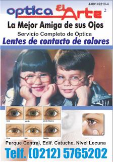 OPTICA EL ARTE en Paginas Amarillas tu guia Comercial