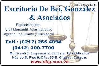 ROBERTO DE BEI, GONZALEZ & ASOCIADOS en Paginas Amarillas tu guia Comercial