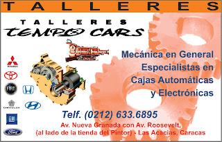 TALLERES TEMPO CARS en Paginas Amarillas tu guia Comercial