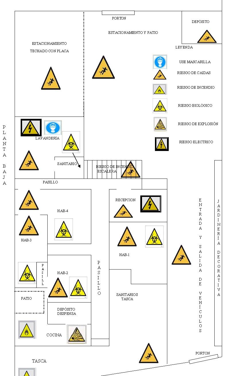 de evacuación por cualquier contingencia acá se ilustra un modelo de ...