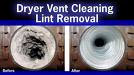 Yes!  Dryer Vent Cleaning is Necessary!