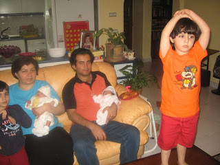 تولد داداش دوقلو پارمین و آرزین