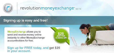 $25 Signup Bonus from Revolution Money Exchange!
