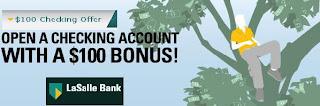 LaSalle $100 Bonus!
