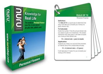 NURU Personal Finance Cards GIVEAWAY