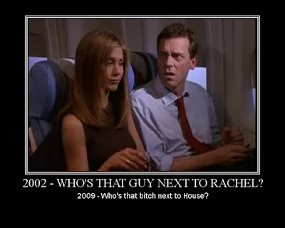2002 - Who's That Guy Next To Rachel Demotivational Poster