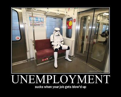 Unemployment Demotivator