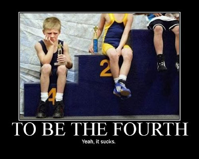 To Be The Fourth Demotivational Poster