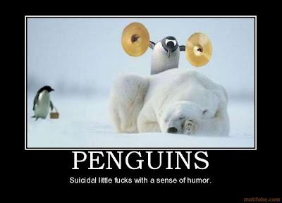 Penguins Demotivational Poster
