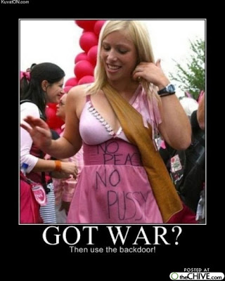Got War? Demotivational Poster