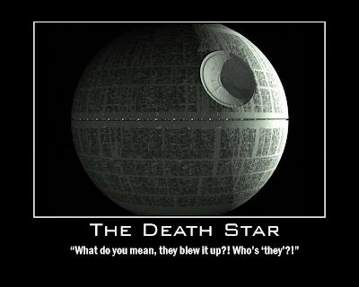 The Death Star Demotivator