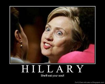 Hillary Demotivators