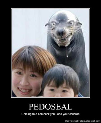 Pedoseal Demotivational Poster