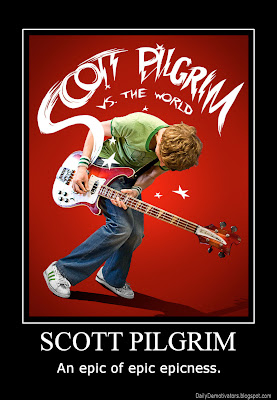 Scott Pilgrim Demotivational Poster