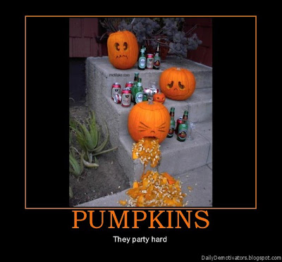 Pumpkins Demotivational Poster