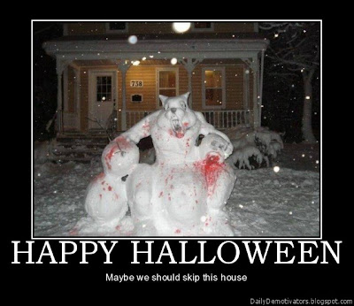 Happy Halloween Demotivational Poster