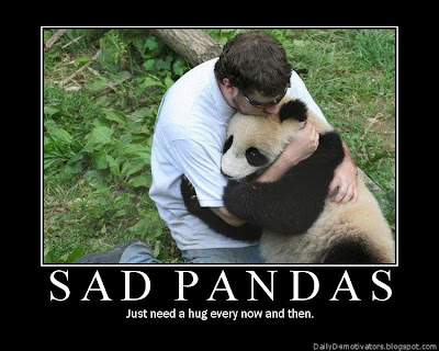Sad Pandas Demotivational Poster