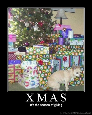 Xmas Demotivational Poster