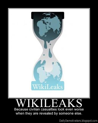 Wikileaks Demotivational Poster