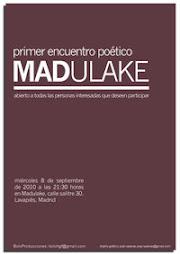Primer Encuentro poético en MADULAKE ¡empieza la temporada insome!