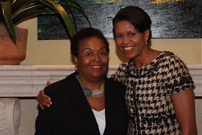 Joyce Ladner and Michelle Obama
