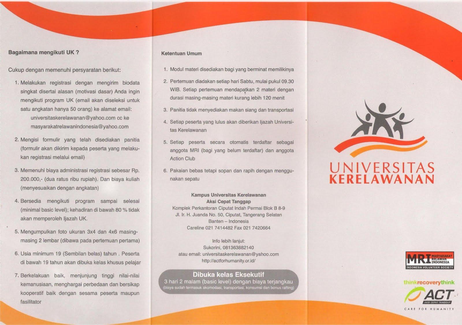 contoh-contoh desain brosur universitas menarik