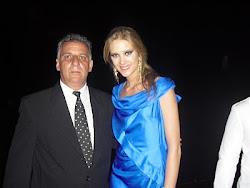 Emidio Campos e Gianne Albertoni