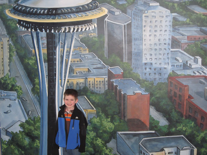 Shawn Jr.space needle