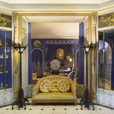 The paris apartment lanvin bath chambre a coucher in les arts decoratifs paris for Les chombre a coucher