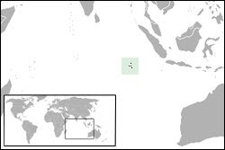 ..::Lokasi Kepulauan Cocos::..