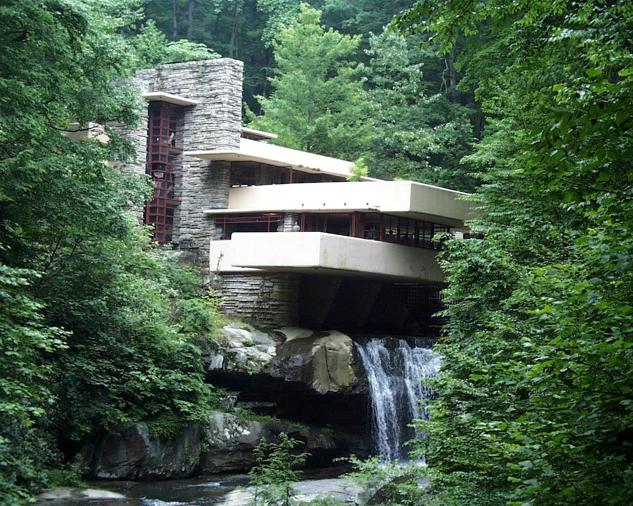 Introducci n a la arquitectura casa de las cascadas - La case de l oncle paul ...
