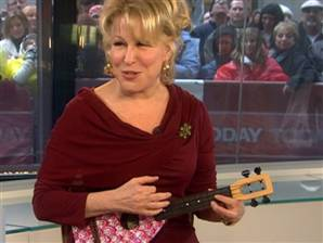 bette midler ukulele
