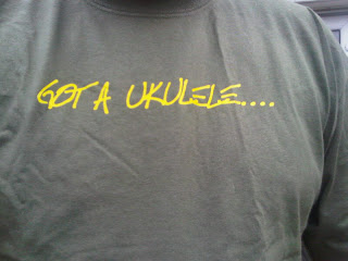 got a ukulele t-shirt