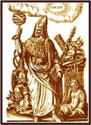 Grabados y dibujos alquimicos- Hermes-trimegisto