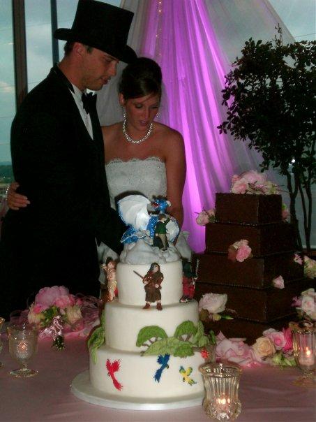 Brent stewart wedding