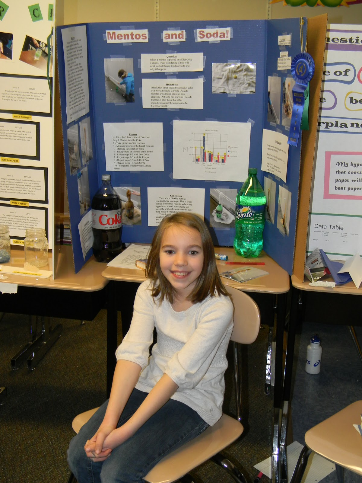 Science Fair Projects with Pop http://thoserobertsons.blogspot.com/2011_01_01_archive.html