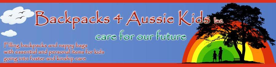 Backpacks 4 Aussie Kids