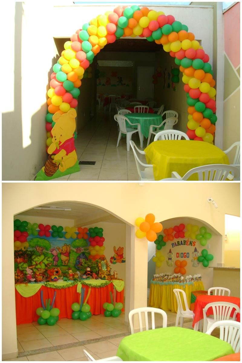 Festa Ursinho Puff  Decoração de festa infantil Ursinho