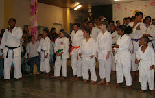 Galera do karate-Dô.