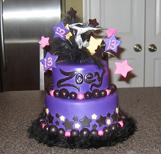 Birthday Cake Ideas For 13 Yr Old Girl : Great Year Birthday Ideaminute Party Birthday Party Ideas