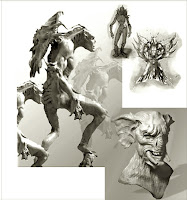 Various Imaginery Sculptures