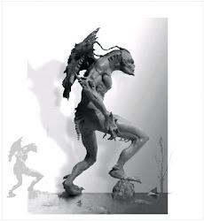 Creature Design Sculpture
