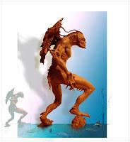 <br />Creature Design Sculpture