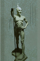 Figurative Sculpture - 24 Inch H