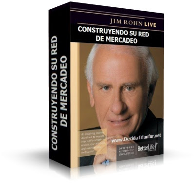 CONSTRUYENDO SU RED DE MERCADEO, Jim Rohn [ Audiolibro ] – El más novedoso audio jamás creado en la industria del marketing multinivel