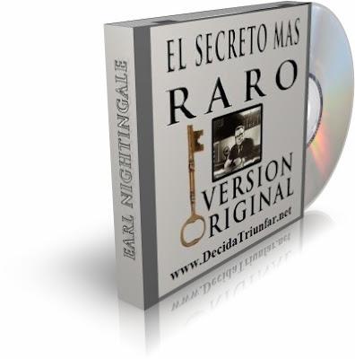 EL SECRETO MAS RARO, Earl Nightingale [ Audiolibro ] – El secreto del éxito es tan sencillo que, aunque muchos lo ven todos los días, no lo reconocen.