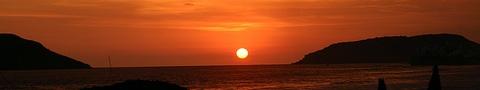 Puesta de sol en Mazatlán