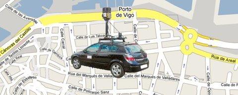 Coche Google en Vigo