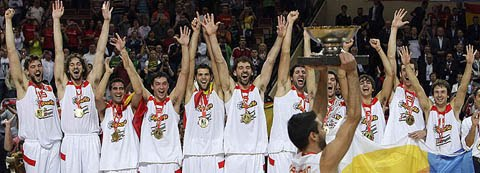 Eurobasket, España campeona de Europa