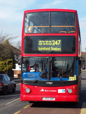 Industrial action affecting local bus services run the the East London Bus